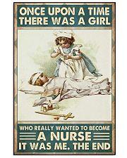 Onceupon nurse girl 24x36 Poster front