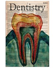 dentistry-dictionary art 11x17 Poster front