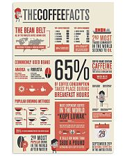 coffee fact  24x36 Poster front