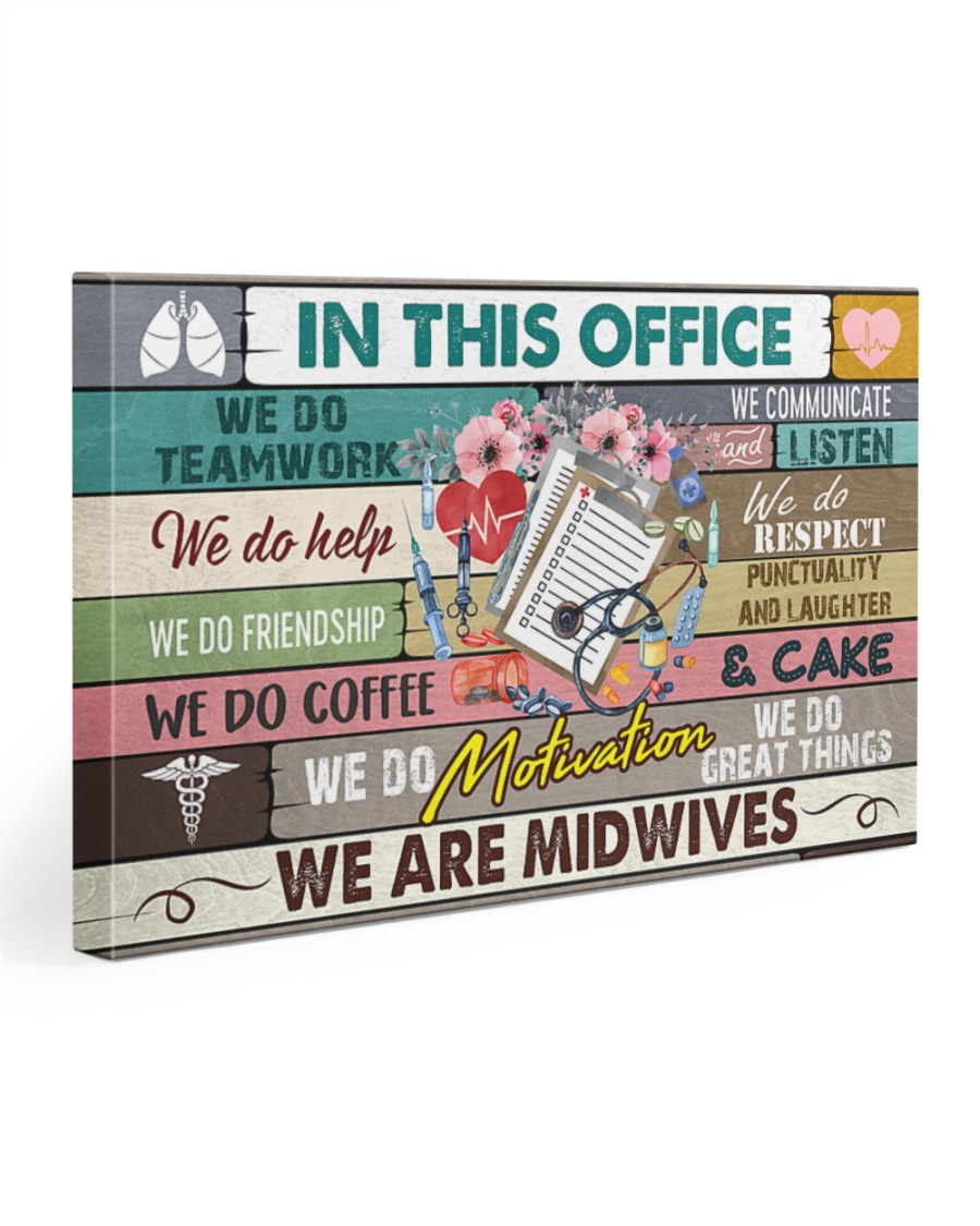 this-office-Midwives 30x20 Gallery Wrapped Canvas Prints