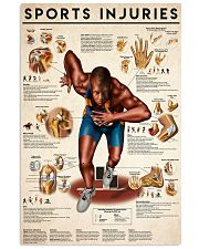 Sports Injuries 24x36 Poster front