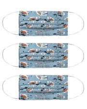 eye chart-close-pattern 1 Cloth Face Mask - 3 Pack front