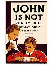 john dull  11x17 Poster front