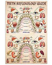teeth reflexology dvhd cva 24x36 Poster front