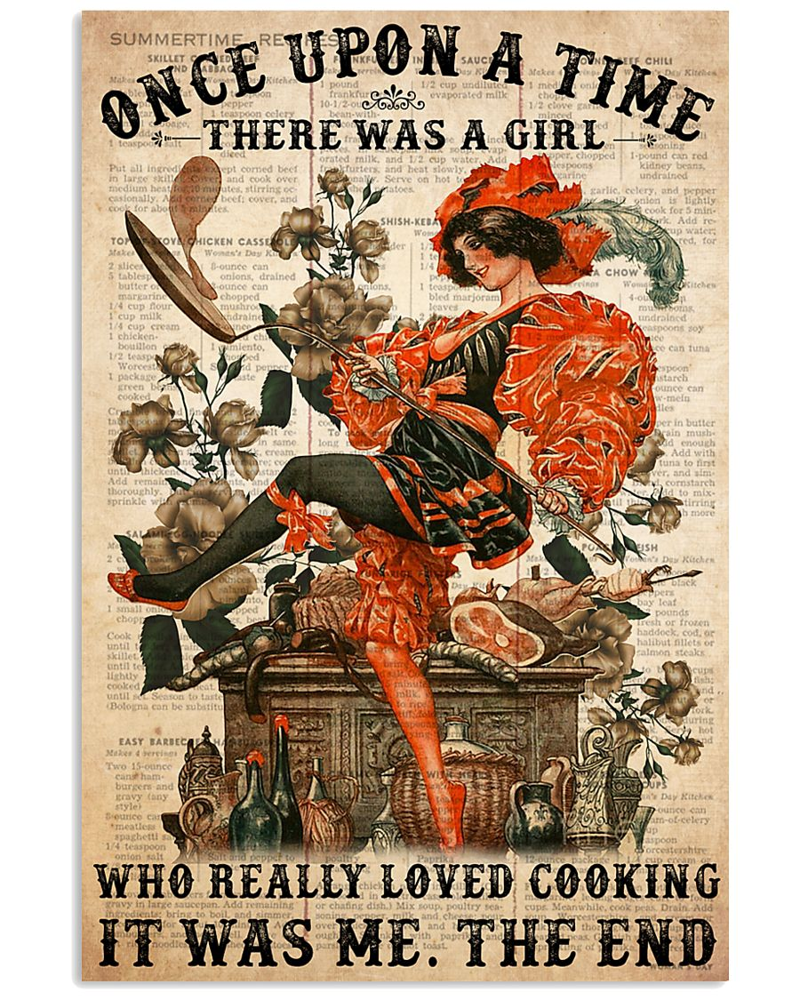 cooking once upon  24x36 Poster
