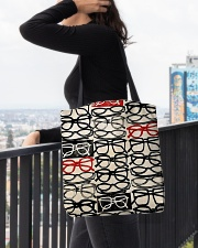 Stack Glass Tote All-over Tote aos-all-over-tote-lifestyle-front-05