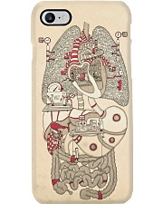 anatomy doodle Phone Case i-phone-8-case