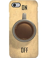 coffee on off  Phone Case i-phone-8-case