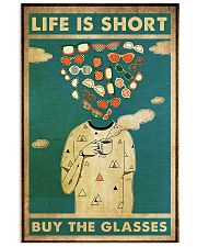 life short glasses 24x36 Poster front