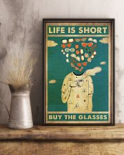 life short glasses 24x36 Poster lifestyle-poster-3