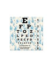 eye chart-close-pattern 2l Square Magnet thumbnail
