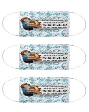 mas squad Ophthalmic Assistant  Cloth Face Mask - 3 Pack front