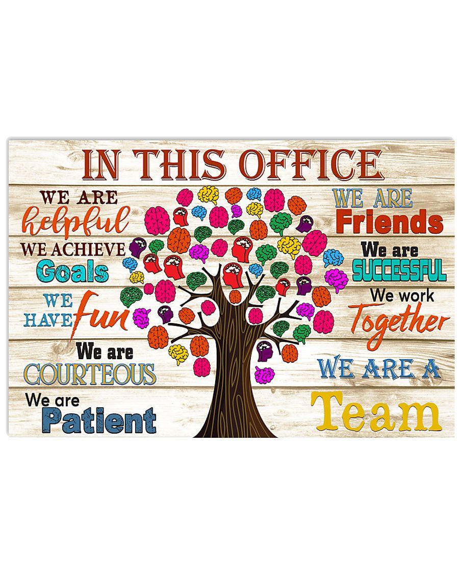 neurology this office 17x11 Poster