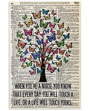 nurse tree butterfly 11x17 Poster front