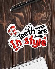 teeth-style-sticker Sticker - 6 pack (Horizontal) aos-sticker-6-pack-horizontal-lifestyle-front-05