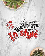 teeth-style-sticker Sticker - 6 pack (Horizontal) aos-sticker-6-pack-horizontal-lifestyle-front-06