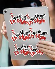 teeth-style-sticker Sticker - 6 pack (Horizontal) aos-sticker-6-pack-horizontal-lifestyle-front-11