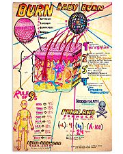 dermatology doodle 11x17 Poster front