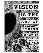 vision eye 24x36 Poster front