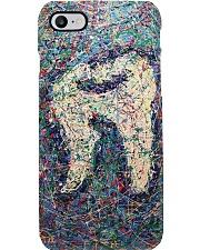 dentist painting  Phone Case i-phone-8-case