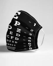 close eyechart bl mas  Cloth Face Mask - 3 Pack aos-face-mask-lifestyle-21
