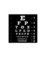 close eyechart bl mas  Square Magnet thumbnail