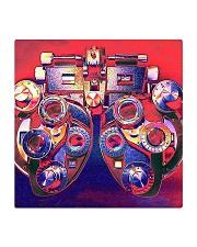 phoropter mask Square Coaster thumbnail