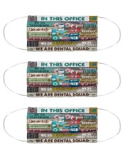 dental-office Cloth Face Mask - 3 Pack front