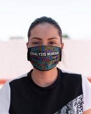 Dialysis nurse typo mas Cloth Face Mask - 3 Pack aos-face-mask-lifestyle-03