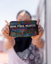 Dialysis nurse typo mas Cloth Face Mask - 3 Pack aos-face-mask-lifestyle-07