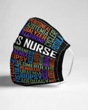 Dialysis nurse typo mas Cloth Face Mask - 3 Pack aos-face-mask-lifestyle-21