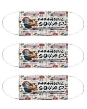 mas squad paramedic Cloth Face Mask - 3 Pack front