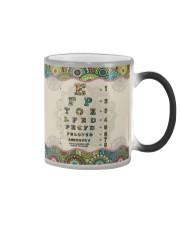 mandala mask optometrist Color Changing Mug thumbnail