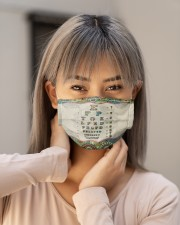 mandala mask optometrist Cloth Face Mask - 3 Pack aos-face-mask-lifestyle-18