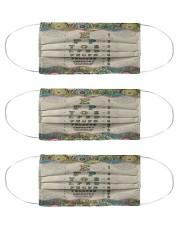 mandala mask optometrist Cloth Face Mask - 3 Pack front