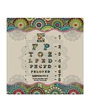 mandala mask optometrist Square Coaster thumbnail