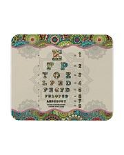 mandala mask optometrist Mousepad thumbnail