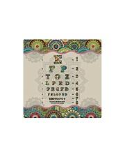mandala mask optometrist Square Magnet thumbnail