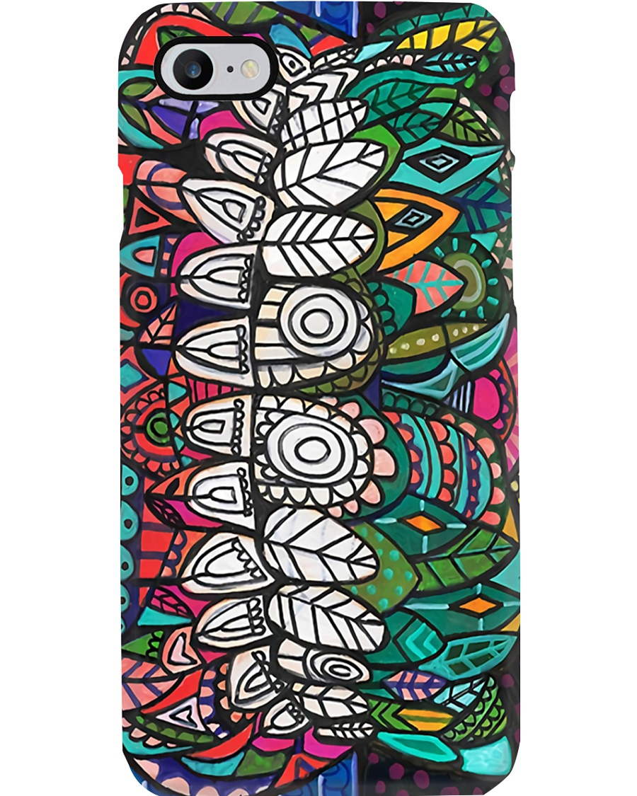 dental-abstract-case 4 Phone Case