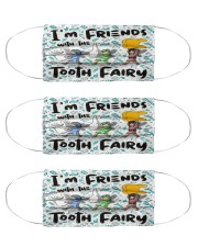 Friend Tooth Fairy Cloth Face Mask - 3 Pack front