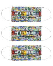 Plate Lab Tech Cloth Face Mask - 3 Pack front