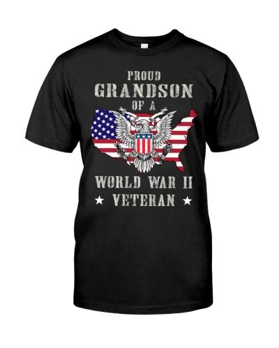 grandson of WWII veteran