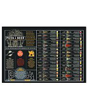 Pizzza and beer paring 24x16 Poster front