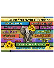 counselor office elephant 36x24 Poster front