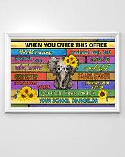 counselor office elephant 36x24 Poster poster-landscape-36x24-lifestyle-02