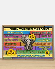 counselor office elephant 36x24 Poster poster-landscape-36x24-lifestyle-03