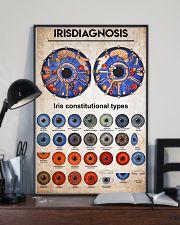 iridology knowledge 11x17 Poster lifestyle-poster-2