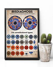 iridology knowledge 11x17 Poster lifestyle-poster-8