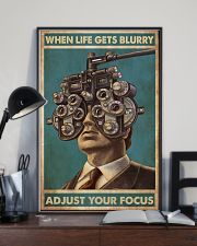 optometrist blurry focus 24x36 Poster lifestyle-poster-2