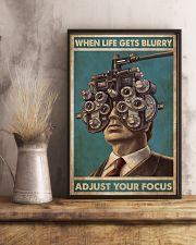 optometrist blurry focus 24x36 Poster lifestyle-poster-3